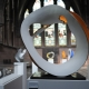 Matt Sherratt Corona No 5 Ceramic sculpture Thrown and hand-built.