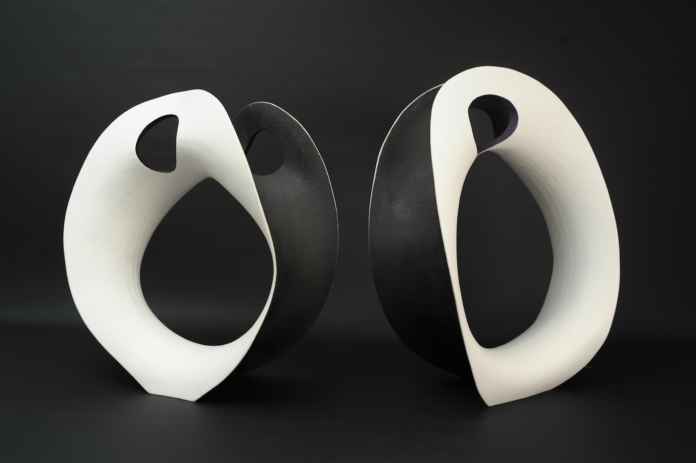 Ceramics sculptures thrown and coiled Matt Sherratt